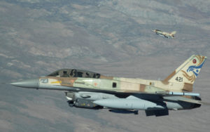 Israeli Warplanes Destroy Hezbollah Bound Weapons Outside Damascus