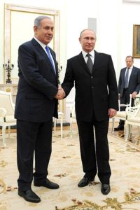 Israel and Russia manage relations over Syria