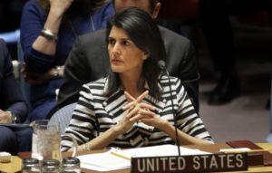 UN Ambassador Haley Confirms Western Wall Part of Israel