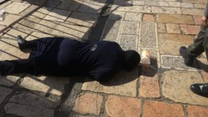 Palestinian Terrorist Killed Attempting to Stab Police