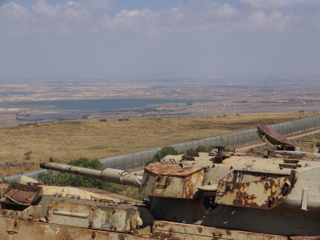 Take A Tour Of The Yom Kippur Ruins In The Golan - Tsionizm