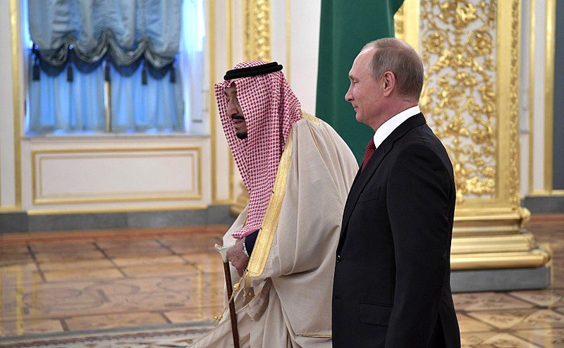 Putin Wants To Be The Middle East's Go-To Problem Solver