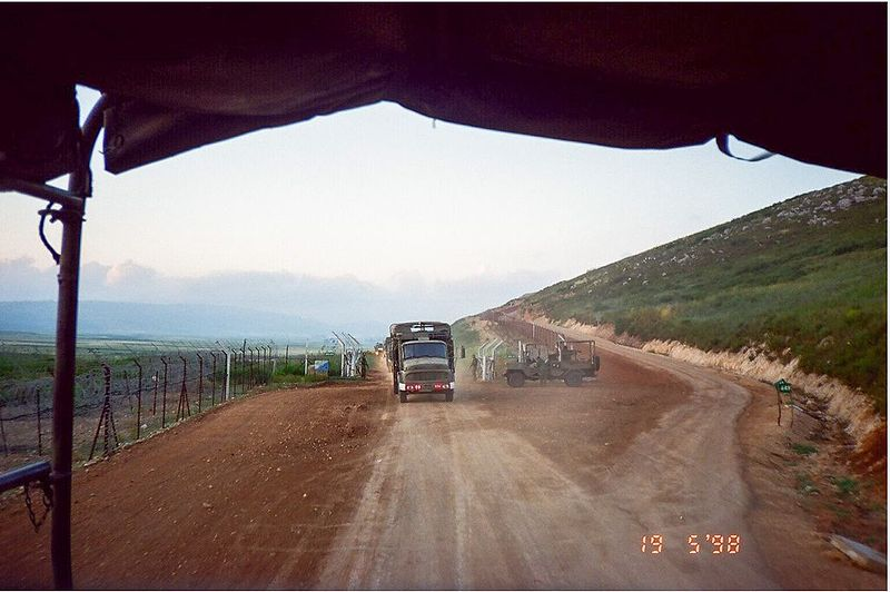 Alleged Israeli strike along Syrian-Lebanese border