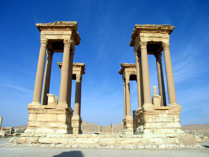 Syria Says Air Defenses Repel Israeli Attack Near Palmyra