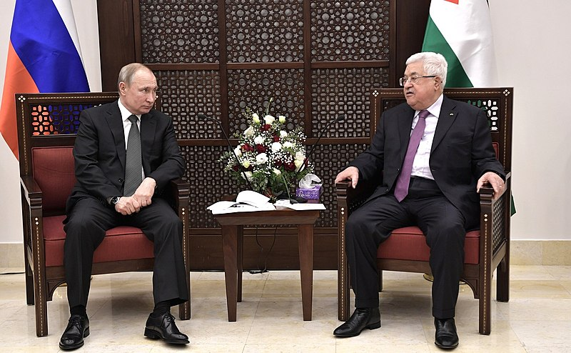 Abbas Runs To Putin To Stop Israeli Annexation Of Jordan Valley