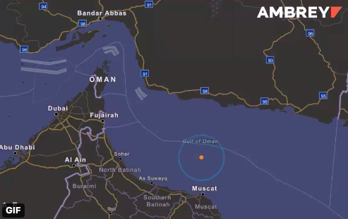 Israeli Ship Targeted In Gulf Of Oman Blast As Officials Point Finger At Iran