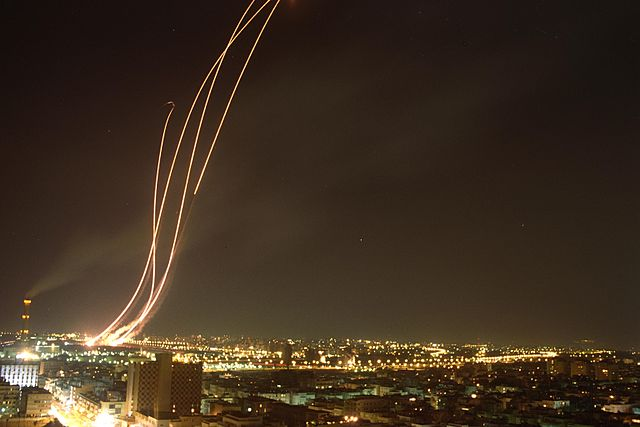 Missile launched Toward Israel From Syria, IDF Responds With Airstrikes