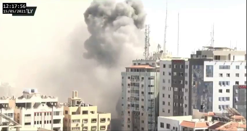 'Difficult To Believe': The Associated Press Is Slammed For Saying It Was Unaware Of Hamas Intel Operation In Their Building That Israel Razed To The Ground: Report From 2014 Claims They Knew Terrorists Were There