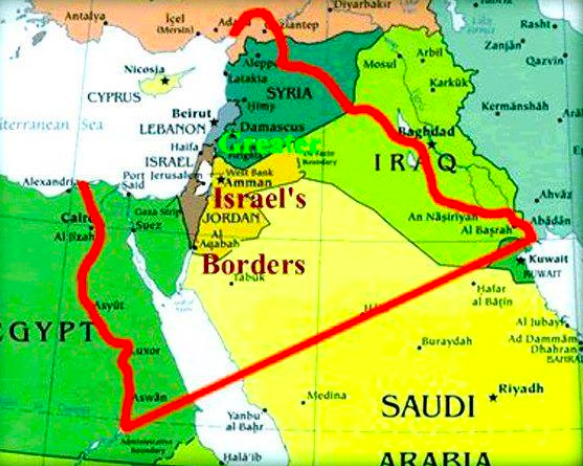 THE INDECENCY OF THE ZIONIST LAND GRAB IN MAPS